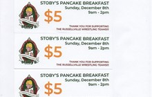 RHS Cyclone & Cyclone Youth Wrestling All You Can Eat Pancake