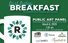 First Friday Breakfast: Public Art Panel