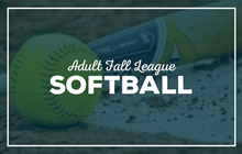 Adult Fall 2020 Softball League Registration